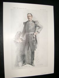 Vanity Fair Print 1913 Col. Montague Johnstone